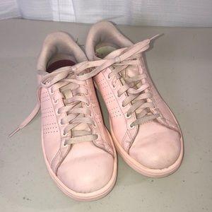 Adidas Light Pink Advantage Cloudfoam Sneakers